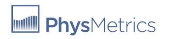 PhysMetric logo